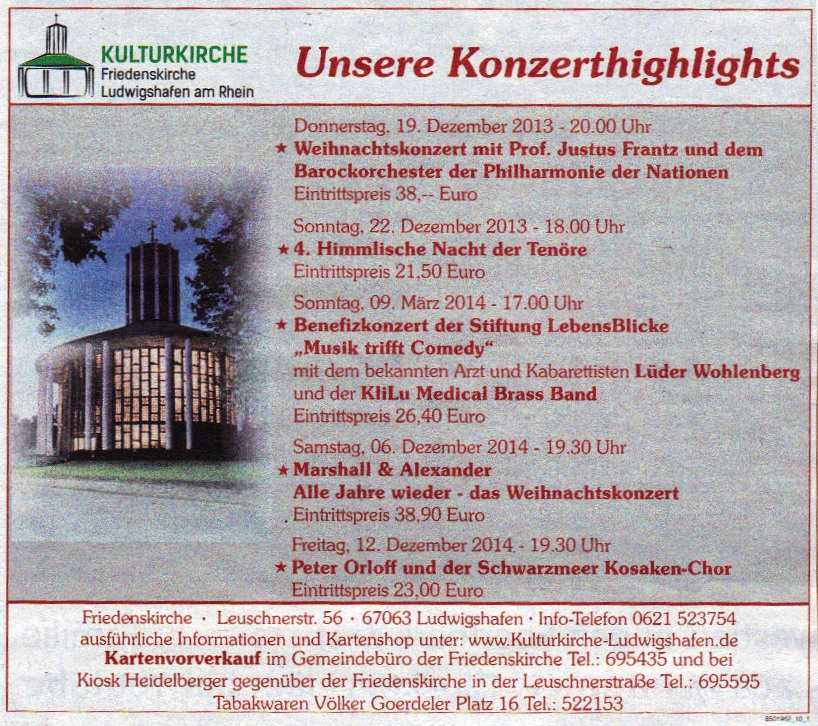 2013-12-04 Die Rheinpfalz