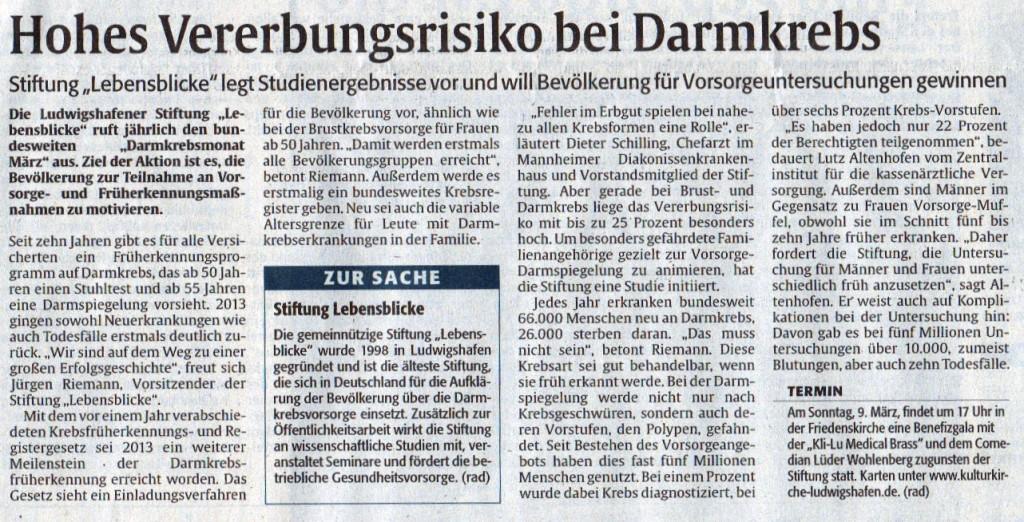 2014-02-26 Die Rheinpfalz