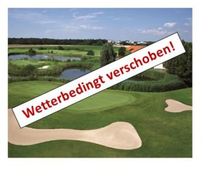 2016-Golfturnier wetterbedingt verschoben