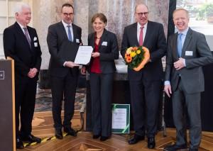 2017-Verleihung Darmkrebs-Präventionspreis
