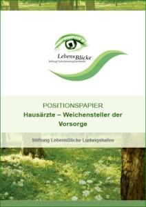 2018-LebensBlicke Positionspapier Hausärzte Titel