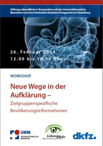 Flyer Workshop Ebert - Bild