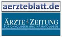 Logo Ärzteztg und Blatt