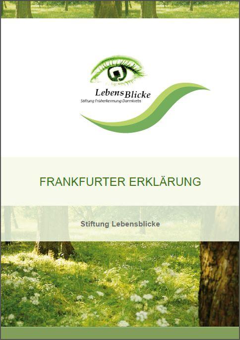 Titel Frankfurter Erklärung